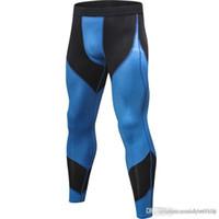 Ücretsiz Kargo Spor Erkek Basketbol Koşu Eğitim Pantolon Elastik Sıkıştırma Hızlı Pantolon Spor Tayt Pantolon F22