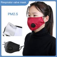 للطي PM2.5 الكربون المنشط مجسم قناع التنفس مع صمام مكافحة الغبار التنفس تصميم قناع الوجه مع فتيلة الذاتي تصفية