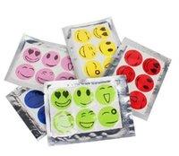 6000 PCS (1 set = 6 pezzi) Anti Mosquito Patch Sticker citronella zanzara volto sorridente repellente della zanzara EEA1727