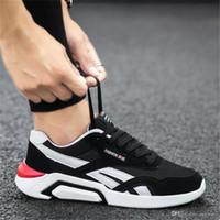 2019 핫 세일 야생 통기성 패션 디자이너 신발 운동화 검은 색 빨간색 파란색 스니커즈 MES 가벼운 캐주얼 S-신발