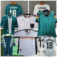레트로 독일 1988 1990 1992 1994 1996 1998 2004 축구 유니폼 Klose Muller Podolski Klinsmann Matthaus 홈 멀리 레트로 축구 셔츠
