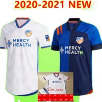 Top quality new 2020 2021 MLS FC Cincinnati soccer jerseys 20 21 GARZA WASTON BERTONE ADI A.CRUZ football shirt jersey Size:S-XXL
