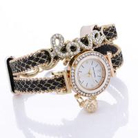 Infinity Bracelet Montre Mode Bracelet Montres Diamants Amour Bracelet En Cuir Montres Femmes Montres À Quartz Round Case Drop Livraison Gratuite