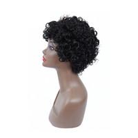 Plecare 2 Couleur synthétique perruque courte perruque pruiken perruques pour les femmes avec Bangs Noir Blond Brun Cheveux naturels pleine Perruques Coupes de cheveux