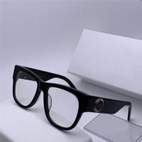 도매 새로운 패션 디자이너 광학 안경 4359 플레이트 프레임 최고 품질 클리어 렌즈 간단한 스타일 투명한 안경