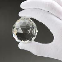 Замечательный диаметр 20мм Висячие Бесцветные игольчатые кристаллы Sphere Prism Подвеска Spacer шарики для свадьбы в доме стекла лампа Люстра Украшение