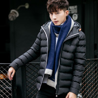 A1464 2019 autumn winter new men' s coat fashion youth s...