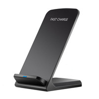 Qi sans fil rapide Chargeur de charge Pad Support Dock pour All Qi Devices noir
