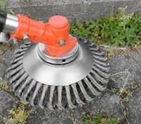 sarclage fil d'acier sarclage multi-fonctions dentées burclover sarclage accessoires de coupe d'herbe tondeuse à tête T03049