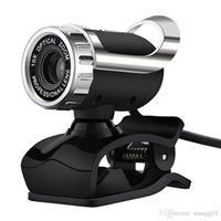 Webcams USB 0.3mp Caméra Web 360 degrés rotative avec webcam à pince micro pour ordinateur portable ordinateur portable ordinateur portable PC neuf