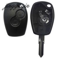 Дистанционный Ключ Оболочки Чехол 2 Кнопки Для Renault Megan Modus Clio Modus Kangoo Logan Sandero Duster Автосигнализация Корпус