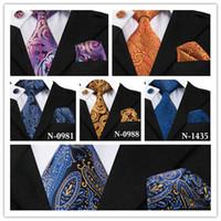 Męskie 100% jedwab 15 Styl Paisley Tie projektant Krawat Różne Style Hurtowa Detal Party Wedding