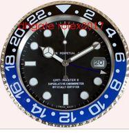 12 Style Quality Brand Watch Clock Wall Clocks 34cm 5cm 1,5 kg Kvarts rörelse för modell 116613 116710 116610 Klockklockor Klockor Ny