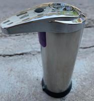التلقائي موزع الصابون الفولاذ المقاوم للصدأ الصابون السائل المطهر Touchless الصيدلي حمام اليد زجاجات الغسل الاستشعار الصيدلي GGA3535-2