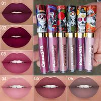 CmaaDu 6 cores Matte líquido Lip Gloss Tint Toning impermeável duradouro Sexy Estilo Lipgloss Batom Companheiro Lip Gloss Maquiagem