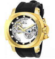 Top quality swiss cosc original INVICTA brand 18k Gold dial ...