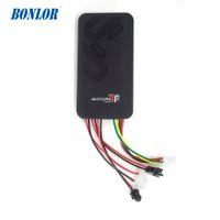 GT06 Mini Araba GPS Tracker SMS GSM GPRS Araç Online Izleme Sistemi Monitör Uzaktan Kumanda Alarmı Motosiklet Araç GPS Ücretsiz Nakliye Için