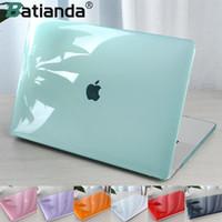 Durchsichtige Schutzhülle für MacBook Air Pro 11 12 13-Zoll-Ganzkörper-Laptop-Kasten Shell Cover A1369 A1466 A1708 A1278 A1465