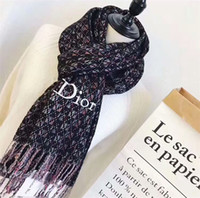 Luxury designer scarf brand men' s and women' s cash...