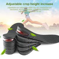 Höhe erhöhen Einlegesohle Ferseneinsatz Lift Schuhe Einlegesohle unsichtbar verstellbare atmungsaktive Einlegesohlen WF 668