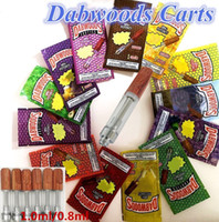 DABWOODS Cartridges Vapes Carts 1. 0ml 0. 8ml Ceramic Coils Wo...