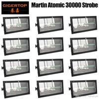 12 единиц эффект Этап освещения Martin 3000 LED Strobe Light RGB 3в1 светильник водить водить мытья строб 2в1 С Color Mix для DJ Light диско DMX