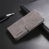 Leather Flip Case for Samsung note 10 S10 S9 S8 Plus s10e a5...