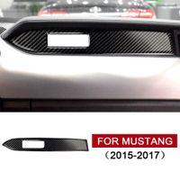 Tableau de bord en fibre de carbone réel voiture Décoration bande pour Ford Mustang voiture Autoétiquettes-Styling 2015 2016 2017 Auto Intérieur Accessoires