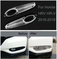 Lampe brouillard avant Chrome cadre de protection pour Honda Garniture bande HRV HRV 2016-2018