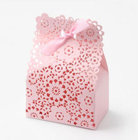 Wedding Favors Gift Boxes Candy Box Party Favors Hollow Wedd...