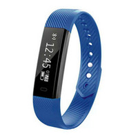 Venta caliente ID115 recordatorio Anti-perdido Sleep Monitor Smart Bracelet Smart Waterproof Wristband Adecuado para Android iOS