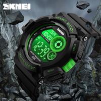 Nowa marka SKMEI Watch mody Mężczyźni G Styl Wodoodporny Sport Wojskowy Zegarki Odporne na wstrząsy Męska Luksusowa LED Digital Watch