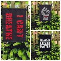 15styles i geçit parti malzemeleri bahçe bayrak 45 * 30CM FFA4123-1 için Siyah Hayatlar Matter Bayrak bahçesinde bayrak açık ev nefes alamaz