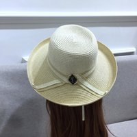 Summer Organza Floppy Beach Hats for Women Wide Brim Striped...