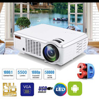 7000 Lumens 1080P Full HD Wireless Projector 3D LED Theater ...