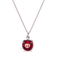 61855ae5c19d Día de San Valentín Regalos de cumpleaños Joyas de animales lindos Rosa  Colgante Circonita Amor Corazón