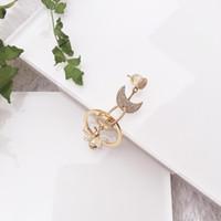 Takı Altın Küpe 925 Gümüş Arı Şekillendirme Kağıt Klip Tek Küpe Kadınlar Takı Hediye