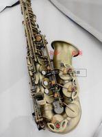 ياناجيساوا A-992 أفضل نوعية النحاس العتيقة ألتو ساكسفون إب الموسيقى أداة براس مع المعبرة. حالة الشحن مجانا