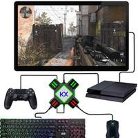Gamepad Kontrolör Dönüştürücü İçin PS4 Klavye Mouse Adaptör Xbox One Nintend Anahtarı Emulator Destek FPS Oyunu Kol Aksesuarları T191227