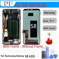 100% Original For Samsung galaxy S8 LCD Display Touch Screen...