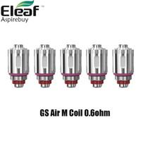 Оригинальный Eleaf GS воздуха м, катушку для головы электронная сигарета сетки катушки 0.6 Ohm пригонка напря расстоянии максимум картридж Vape электронной сигареты испаритель