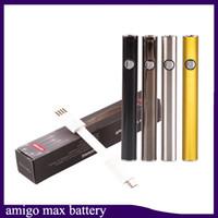 Original Amigo Max Preheat Battery 380mAh Variable Voltage VV Vape Mod For 510 Thick Oil Liberty V9 Vaporizer Cartridges Tank 2223007-1