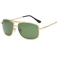 Nouvelle arrivée marque designer lunettes de soleil objectif en verre pour hommes femmes mâle 60mm conduite lunettes UV400 lunettes Oculos gafas de sol avec des cas