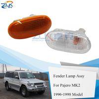 ZUK Side Turn Light Lamp Fender Side répéteur de signal mitsubishi Pajero MK2 V31 V32 V33 1996-1998 COLT L200 Lancer GALANT