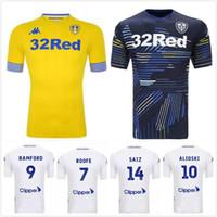 Top qualidade 18 19 Leeds United Camisolas de futebol 2018 2019 Leeds  United champion JANSSON BAMFORD f749f104a88c2
