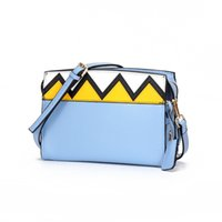 Designer-Nuova Panelled le donne popolari Shoulder Bag Patchwork Piccola Piazza del Designer Borse Crossbody Bag