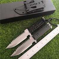 Cold steel new FBIQQ- 01 Dragon survival tactical straight kn...
