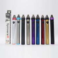 510 나사 건전지 회 전자 3S IIIS vape 펜 1600mah 기화기 정상 회전시키는 3.6v-4.8v 변하기 쉬운 건전지 전자 담배 밑바닥 USB 항구