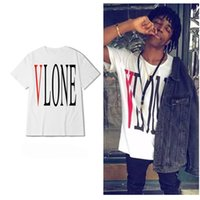 VLONE T- shirt Men Newest Type Streetwear Fashion Big V Print...