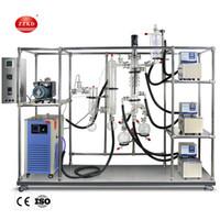 ZZKD Novo Kit de Destilação de Curto-Caminho Solução Turnkey Solução de Curto Filme Evaporador de Filme Evaporador